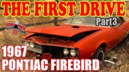 FIRST DRIVE ABANDONED 1967 Pontiac Firebird will it start old car rescue project Part 3