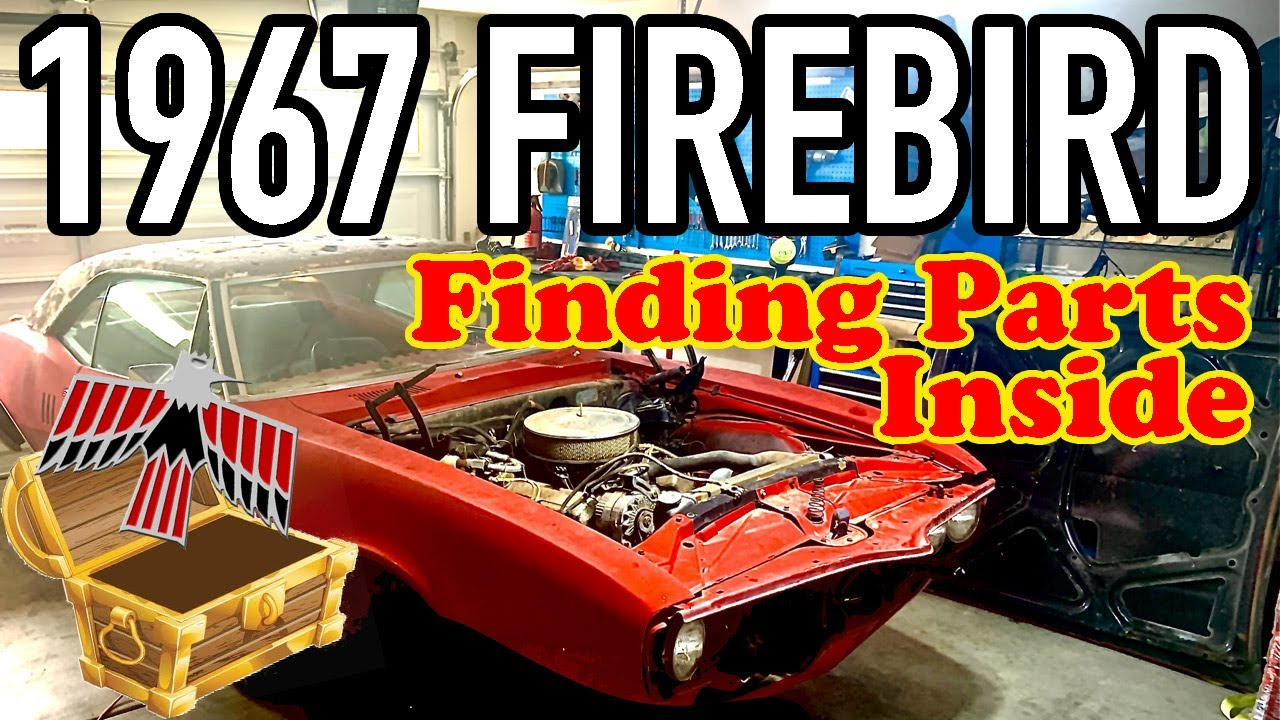 1967 Pontiac Firebird Rescue - Firebird/Camaro Build Project: Cleaning out the treasures & rust. #2