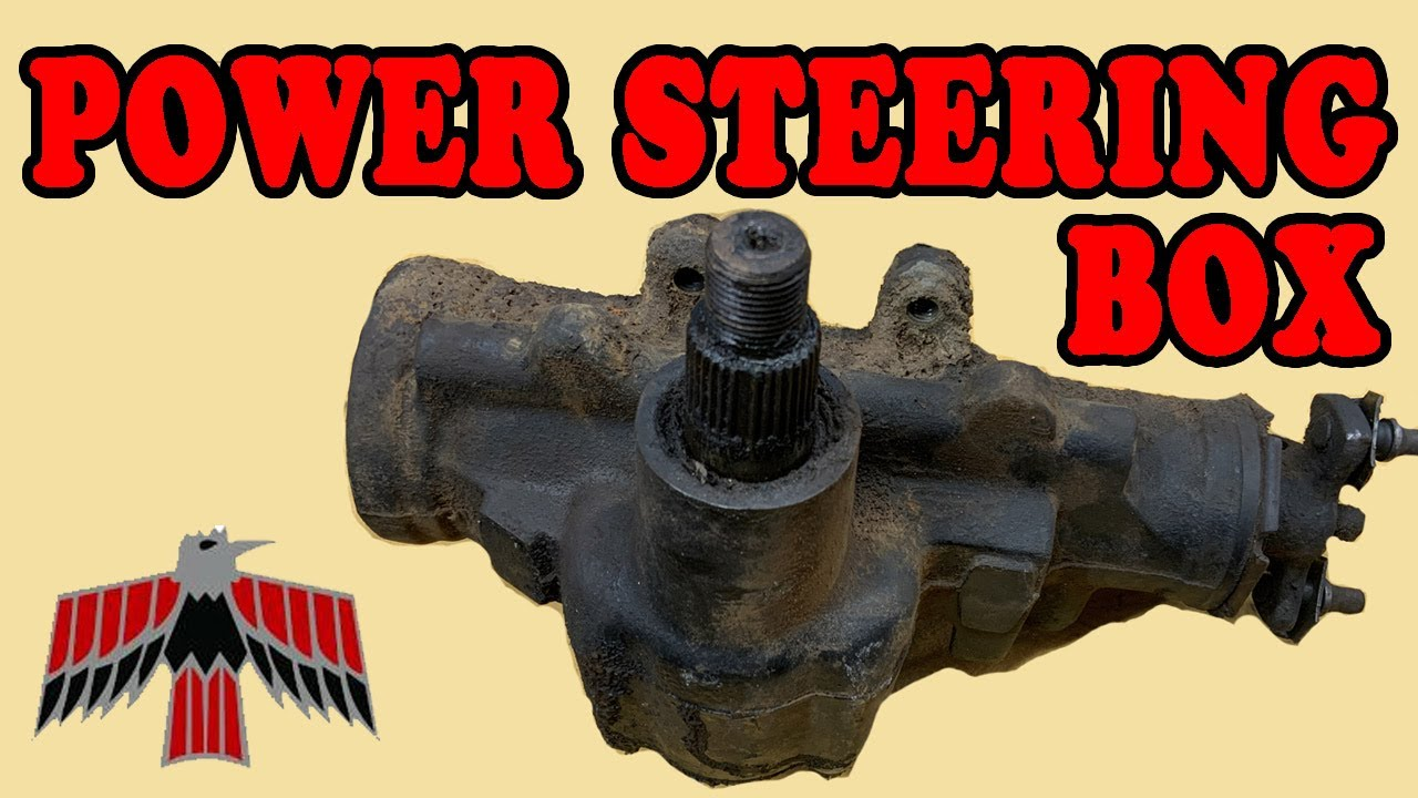 How to Replace Power Steering Box in a Pontiac Firebird or Chevy Camaro: Muscle Car Build Project