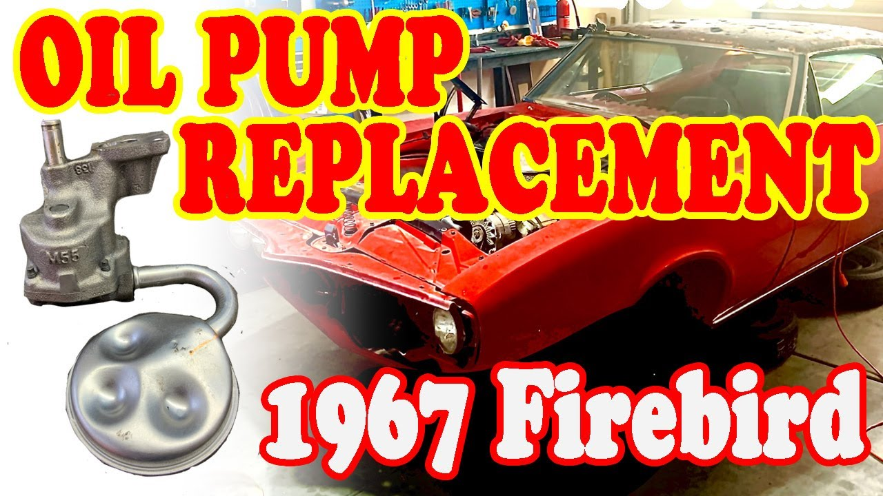 How to replace oil pump and install pickup screen in the car on a Small Block Chevy 350 motor